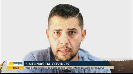 Paraibanos recuperados da Covid-19 relatam como foi o período da doença