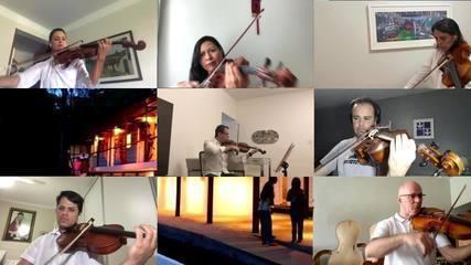 Orquestra Sinfônica de Brasília grava homenagem aos 60 anos da capital