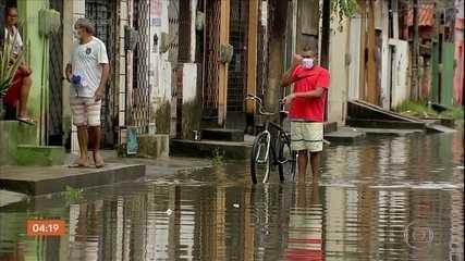 Chuva causa transtornos no Ceará