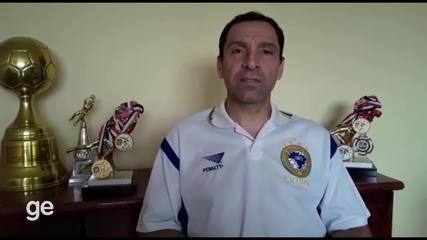 Bagé relembra o Mundial de Futsal de 1996