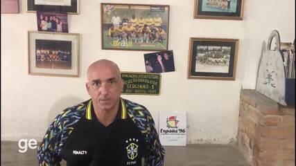 Serginho relembra a conquista do Mundial de Futsal de 1996