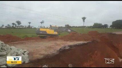 Chuvas de abril provocam estragos nas estradas no Maranhão