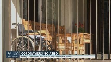Em Serrana, SP, seis funcionários de asilo e cinco moradores estão com Covid-19