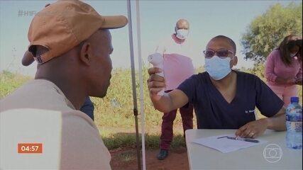 África registra aumento de 43% no número de casos de Covid-19 na última semana