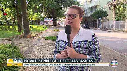 Prefeitura de Belo Horizonte amplia a distribuição de cestas básicas durante a pandemia