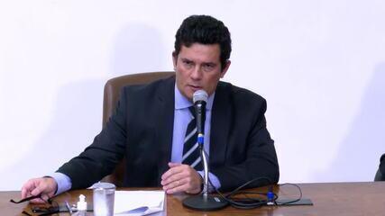'O presidente também me disse que tinha preocupação com inquéritos no STF', diz Moro