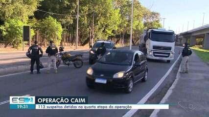 Polícia prende mais 13 suspeitos na quarta etapa da Operação Caim no ES