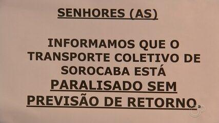 Prefeitura e Urbes entrarão na Justiça para tentar normalizar ônibus