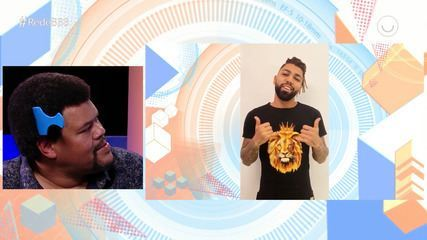 Babu se emociona com vídeo de Gabigol