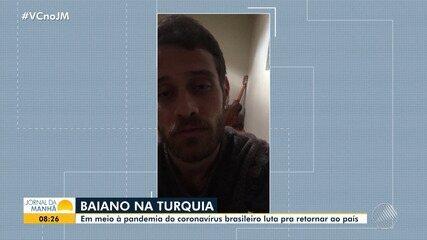 Modelo baiano que vive na Turquia enfrenta dificuldades para retornar ao Brasil