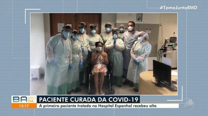 Conheça três histórias emocionantes de pacientes que se curaram de Covid-19 na Bahia