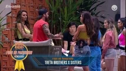 'Treta Sisters X Brothers' vence categoria Fogo no Parquinho