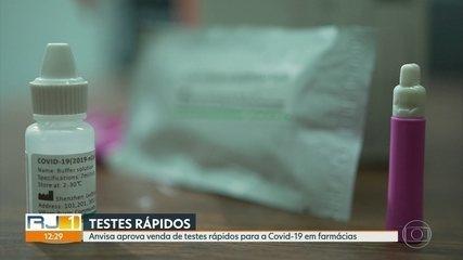 Agência Nacional de Vigilância Sanitária libera venda de testes rápidos para Covid-19