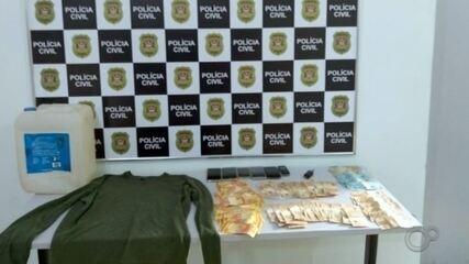 Quadrilha investigada pela polícia há um mês é presa suspeita de furtar banco em Torrinha