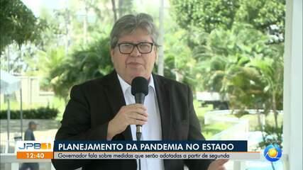 Paraíba deve estender fechamento do comércio, escolas e repartições públicas