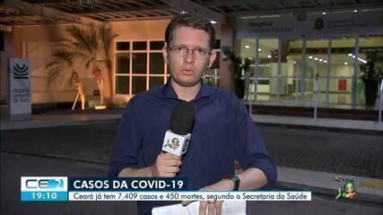 450 morreram pela covid-19 no Ceará