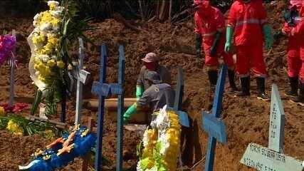 Manaus pode ter subnotificação de 1.185 mortes por Covid-19