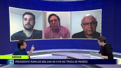 Presidente do Grêmio diverge de Casagrande e diz ser flexível a possível retorno do futebol