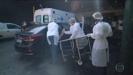 Covid-19: Brasil pode terminar semana com quase 10 mil mortes a mais, aponta estudo