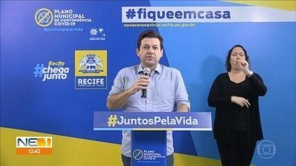 Recife contrata 802 profissionais para combater o novo coronavírus