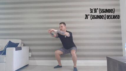 Minuto Esporte RPC: exercícios para os membros inferiores