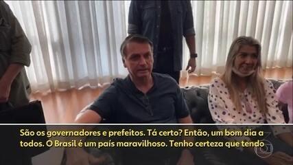 Presidente Bolsonaro e políticos mandam mensagens aos trabalhadores neste 1º de maio