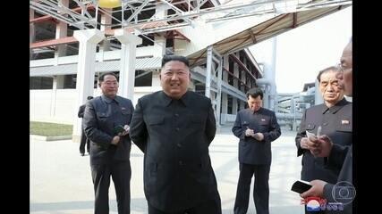 Kim Jong-un reaparece após quase três semanas, diz imprensa da Coreia do Norte
