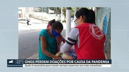 ONGs perdem doações por conta da pandemia