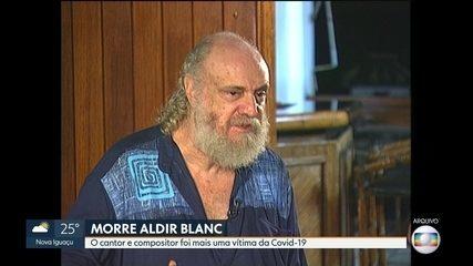 Morre o cantor e compositor Aldir Blanc