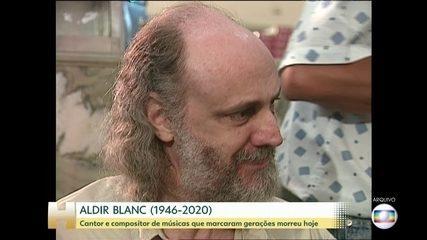 Aldir Blanc, compositor e escritor, morre de Covid-19 no Rio