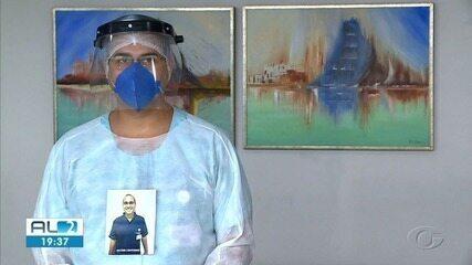 Enfermeiros usam crachás com nomes e fotos para que pacientes saiba quem são