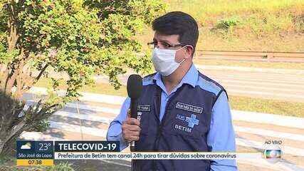 Prefeitura de Betim tem canal 24h para tirar dúvidas sobre coronavírus