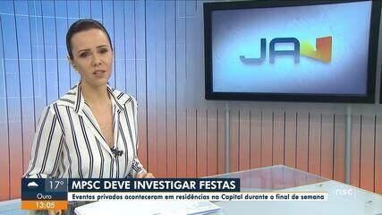 MPSC deve investigar festas em Florianópolis durante pandemia