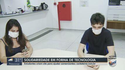 Alunos do IFSP de São Carlos criam site para ajudar comerciantes