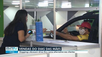 Dia das Mães: Shoppings de Salvador oferecem drive-thru como alternativa aos clientes