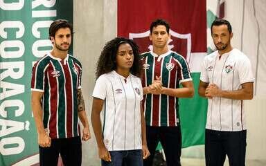Fluminense divulga making of de ensaio fotográfico dos novos uniformes
