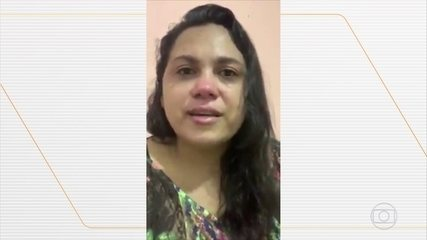 Mulher de sargento vítima da Covid-19 pede respeito ao isolamento social