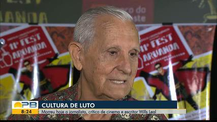 Jornalista e escritor, Wills Leal morre aos 83 anos, em João Pessoa