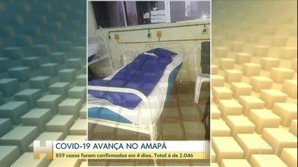 Jornal Hoje: corpos de vítimas dividem espaço com pacientes internados no Amapá