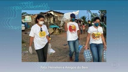 Solidariedade S/A: reestruturação de hospital, doação de kits de limpeza e água