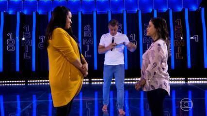 Naíne e Patrícia continuam desafio do 'The Wall'