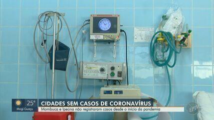 Mombuca e Ipeúna não possuem registros de casos confirmados desde o início da pandemia