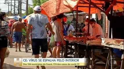 Fortaleza concentra mais de 65% dos casos de Covid-19 do Ceará