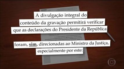 AGU e PGR têm 48 horas para se manifestar sobre sigilo do vídeo de reunião ministerial