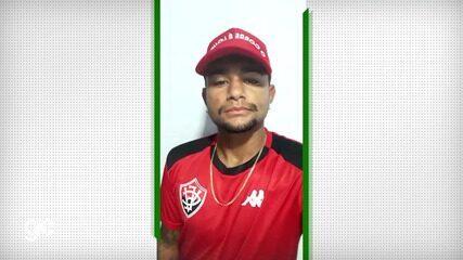 Jogador Ruan Café, do Vitória, fala sobre os treinos em casa por causa da pandemia