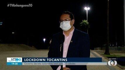 Secretário explica como vai funcionar o 'lockdown' em cidades do Tocantins