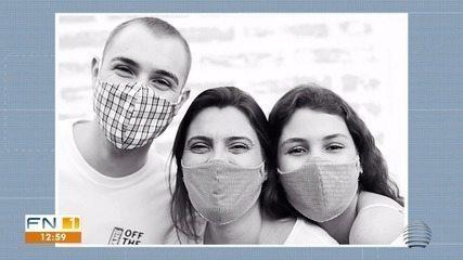 Fotógrafa cria campanha 'Sorri com os olhos' durante pandemia