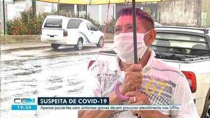 O atendimento de pacientes com Covid-19 nas Upas