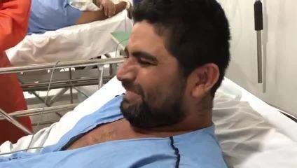 Goleiro do Fortaleza dá notícia de alta hospitalar a torcedor curado de Covid-19