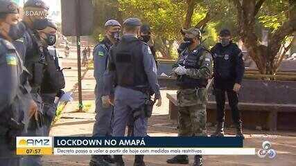 Lockdown: começam a valer no AP os decretos com medidas mais restritivas contra a Covid-19